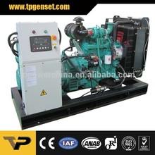 50Hz 30kva open type three phase diesel generator powered by perkins