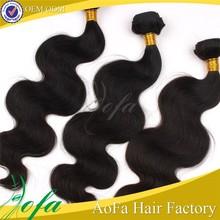 Soft feeling wholesale 6A natural remy virgin 100% brazilian human honey brown hair