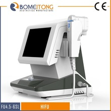 Portable ultra hifu high intensity focused ultrasound hifu for face lift