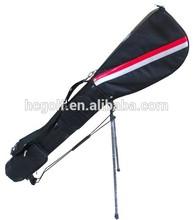 simple design light weight custom nylon golf Sunday bag
