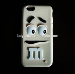 Cartoon desgin candy m case wholesale 3d mobile phone cover for Samsung S4/S5