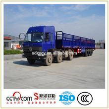 cargo fence semi trailer,cargo box trailer with FUWA 13 Ton Axle