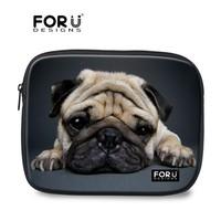 ODM Welcome Cute Pug 19 Inch Neoprene Laptop Sleeve