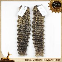 7A 100% whole sale unprocessed 18 incht deep wave cheap human hair peruvian hair virgin human hair