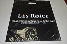 OEM Custom Printed No Anti Dumping Duty Die Cut Shopping Plastic Bag Wholesale