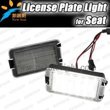 Factory direct sale High quality 18 SMD led license light for SEAT LED License Plate Light for ALTEA, AROSA, IBIZA, CORDOBA,LEON