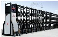 Automatic iron sliding retractable main gate opener