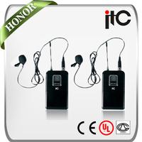 T-521UL Professional cheap wireless collar microphone