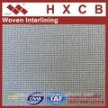 ( 3310 ) de punto adhesivas de tejido interlínea revestimientos de las puertas de la tela fusible interfaz