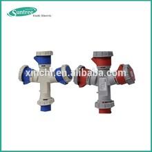 IP44 TUV outlets Industrial Socket Electrical plug&socket 3p+n+e waterproof socket