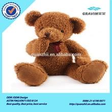 Custom wholesale plush&stuffed&soft realistic teddy bear with EN71/ASTM