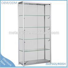 Adjustable-shelves shirt display cabinet