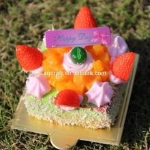 2015 fashional fake cake for decoration,display/Yiwu sanqi craft factory