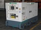 Mauritius 80KVA super silent diesel generator with Perkins Engine
