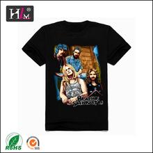 2015 new fashion china manufacturer design tshirt basketball with 100% cotton
