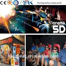 Latest 5D cinema platform for sale