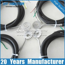 Hot Runner Cable Enail Coil Heaters, Mini Enail Flat Coil Heater