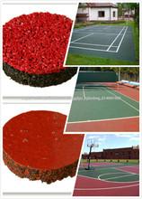 Rubber & Plastic Products- EPDM Rubber Granules/ EPDM chips/ Polyurethane Binder Epdm Granules-G-Y-150112-3