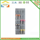 20 Pockets Portable Shoe Rack Hanging Closet Organizer Over Door Soft Shelves Storage Cabinets for shoes, towel, toys