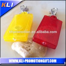 Colorful LED keyring with snap hook unusual keyrings