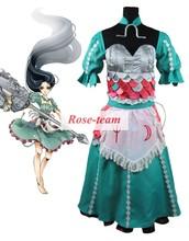 Fantasia Anime Lolita Dress-Hot Sale Alice: Madness Returns Alice Dress Cosplay Costumes Game Cosplay Costume C0048