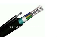 Good quality outdoor aerial GYTC8S 2 core fiber optic cable