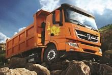 Good quality 10 wheels 30t beiben dump truck