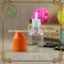 plastic 5ml eliquid oil pet bottle Factory wholesale