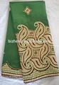 primas de seda tejido george vestido de noche con mangas de verano de diseño de patrones