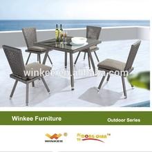 PE bamboo garden outdoor furniture