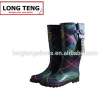 2014 best sale fashion ladies' rain boots women wellington boots wholesale