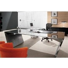2015 Yishang Metal Frame Modern Executive Office Desk with ES