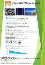 High performance monocrystalline 280W solar panel for sale