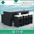 Extérieur mobilier de jardin meubles de jardin meubles en rotin bar set made in vietnam fwe-051