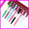new style ball pen fancy design promotional gifts glass ball pen for school kids office ladies