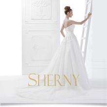 Sherny Bridals convidados personalizar o vestido de casamento para mãe do noivo