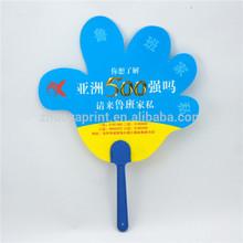 Best selling plastic hand fans sticks useful eco-friendly plastic hand fans sticks
