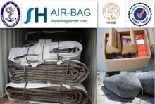 Natural rubber underwater air lift bags for shipyard