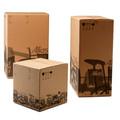 Brown kraft reciclado caixa de papel