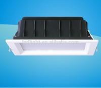 Square shape, AC100-240V, IP 44 , 4 inch, SMD5730 LED down light 12W, CE ROHS UL listed
