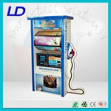 8 years factory corrugated pallet skirt ,corrugated pallet display with multi-packet