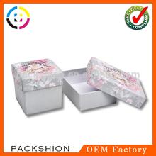 Own Designed Paper Present Box with Foam Insert