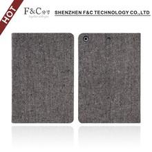 Canvas folio case for ipad mini 2/3