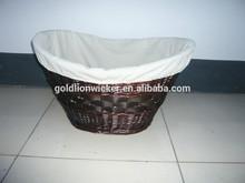 laundry basket OF Split willow,laundry basket ,basket