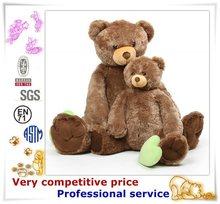 Custom production animal plush toy giant stuffed bear