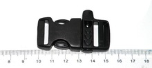 plastic whistle insert buckle,bag accessories