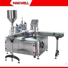 Two Filling Heads Automatic Nail Polishing Machine,Nail Polish Filling And Capping Machine
