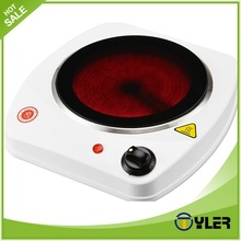 Home appliances plate warmer electric coil hot plate cooking