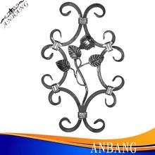 Cuadros verdaderos de puertas de hierro y valla de hierro diseño de parrilla / de la parrilla de ventana design-6308