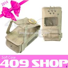 best walkie talkie radio leather carry case for TK-360 TK360